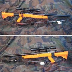 WELL MB06C Airsoft Sniper Rifle with 3-9x40 Scope 450FPS