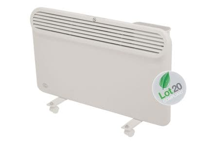 1.5Kw Prem-i-air Slimline, Wall and Floor Mounting Programmable Panel Heater