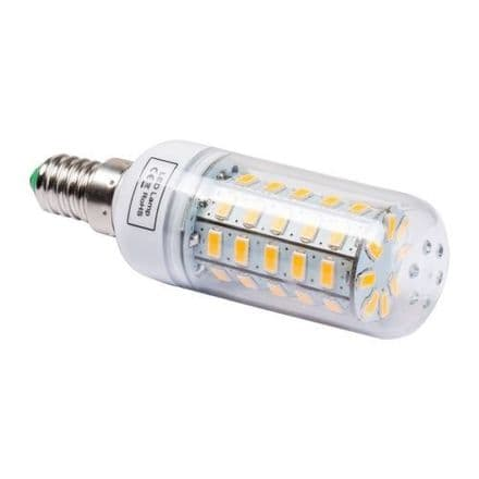 10W LED CORN COOL LIGHT BULB E14 FITTING