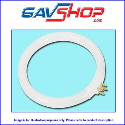 11W Circular Fluorescent Lamp T4 Replacement Tube for V2  Desktop Illuminated Magnifier Lamp