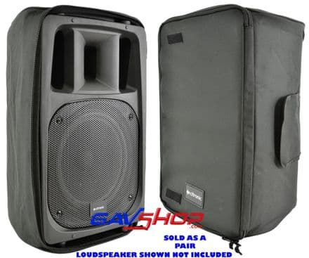 "12"" CITRONIC LOUDSPEAKER GENERIC PADDED SPEAKER TRANSIT BAGS (PAIR) - 127.070UK"