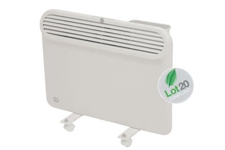 1Kw Prem-i-air Slimline, Wall and Floor Mounting Programmable Panel Heater