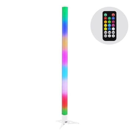 1M EQUINOX LITHIUM POWERED PULSE LED TUBE WITH REMOTE & 8 HOUR BATTERY