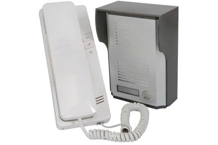 2 Wire Door Phone Intercom System - Answer door without opening it!