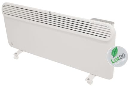2Kw Prem-i-air Slimline, Wall and Floor Mounting Programmable Panel Heater