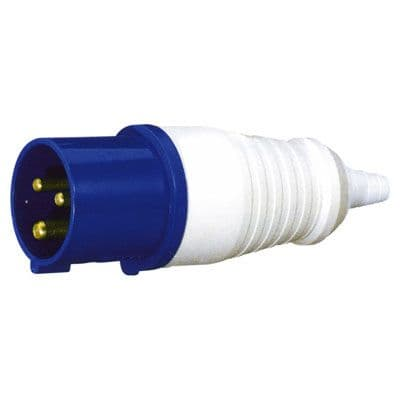32A 3 Contact High Current In-line Plug