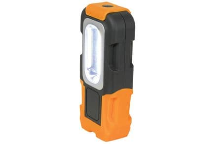 3W COB Style Mini LED Work Light  Inc. FREE BATTERIES!- 410.315UK