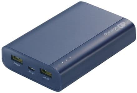 GP Battery Powerbank with two USB Power Outlets 7500mAh
