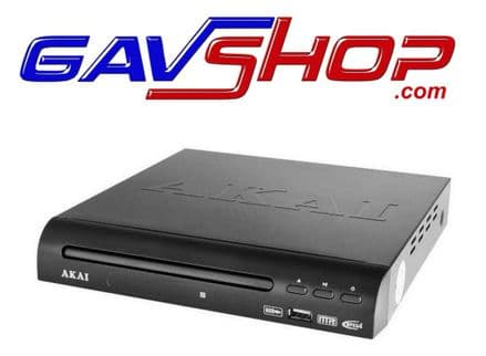 AKAI A51002 COMPACT DVD PLAYER WITH USB