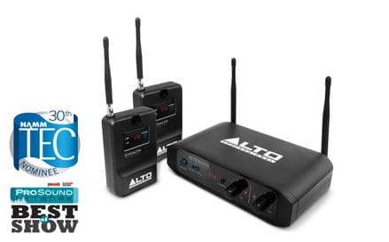 ALTO STEALTH WIRELESS  WIRELESS SYSTEM FOR ACTIVE SPEAKERS - LS04556