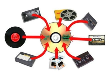 Audio Tapes, Mini Disc,  recordings transferred to CD Disc