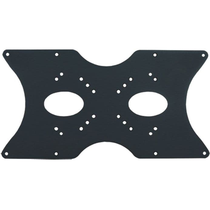 Black Slim Universal TV Bracket Mount VESA Adapter Plate up to 400mm X 200mm - 3807SLV