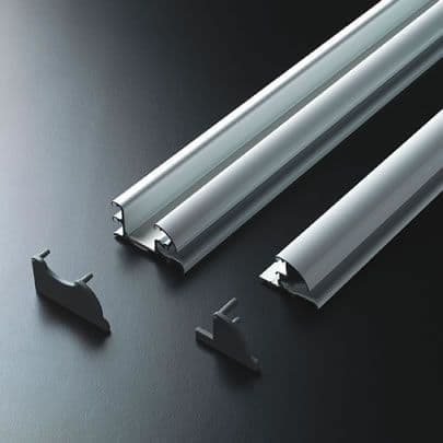 Deluxe Sliding Rail System - Dual Glide 2.4m