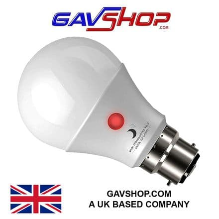 Dusk to Dawn LED Bulb with Dual Daylight Sensors· Automatic On - OFF