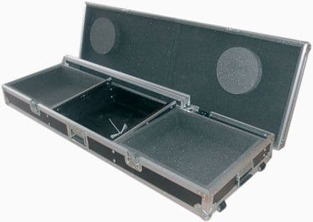 """FLIGHTCASES FOR A 19"""" MIXER AND 2 x TURNTABLES"""