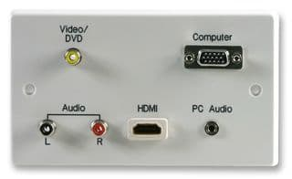 HDMI VGA VIDEO FACEPLATE / WALLPLATE GAV16480