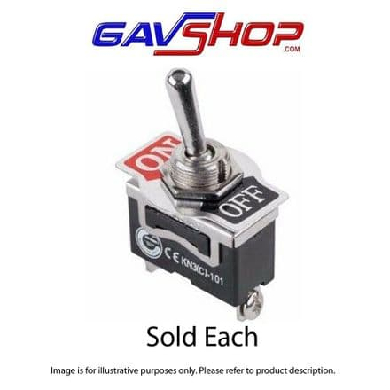 Heavy Duty Toggle Switch, SPDT On-Off  2 POSITION