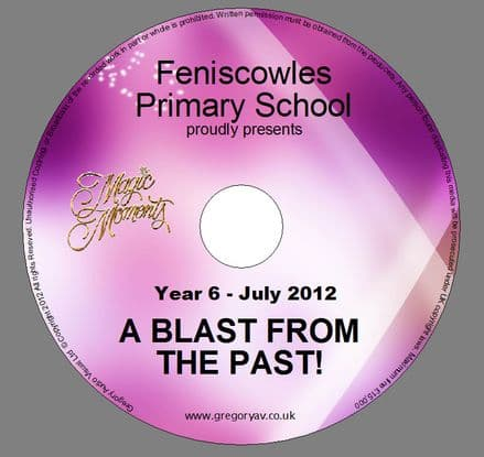 Feniscowles Primary School - A Blast from the Past - 2012