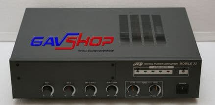 JDM MOBILE 35W Mixing Power Amplifier Low & High Impedance. (Used Item)