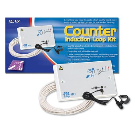 Signet ML1/K Counter or Reception Hearing Aid Disability Loop Kit