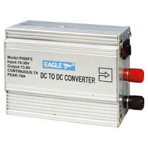 Silver 24Vdc to 13.8Vdc 7A Converter - SLW006