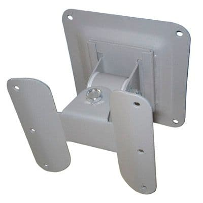 Silver Universal Flat LCD Screen Wall Mount Bracket for Screens up to 24""