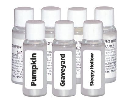 VARIOUS HALLOWEEN Flavoured Scented Smoke Fluid Additives For Smoke Machines