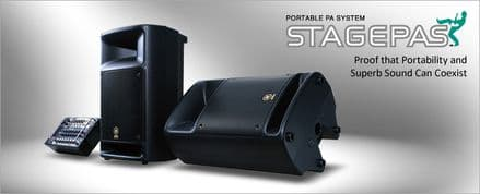 YAMAHA STAGEPAS 300 Portable PA System