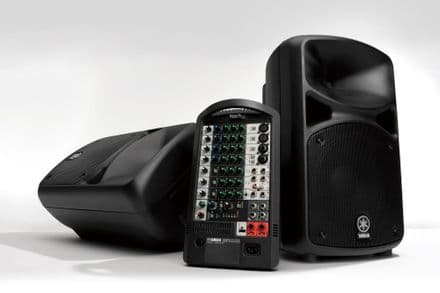 Yamaha STAGEPAS600i Portable Stereo PA System with USB 340+340W