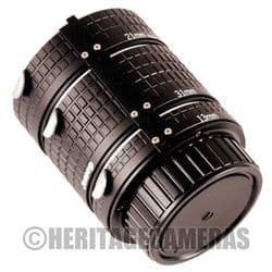 1:1 Auto Macro Extension Tubes Meter Coupled for Nikon AI Cameras & Lenses, some AF and Digital SLRs