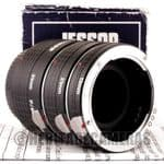1:1 Auto Macro Extension Tubes, Meter Coupled for Praktica B BC BM BX or Jenaflex 35mm SLRs & Lenses