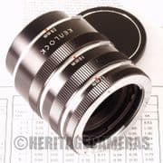 1:1 Macro Extension Tubes Auto and Meter Coupled for Olympus OM manual focus 35mm Film SLRs & Lenses