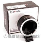 Fotodiox Pro EF-NEX Auto Lens Adapter for Canon EF EF-S Lens on Sony NEX E-Mount A7 Digital Cameras