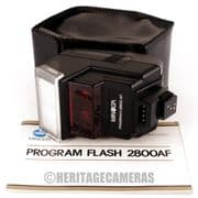Minolta Program 2800 AF TTL Dedicated Flash, 5000 7000 9000 Auto Focus X-500 X-700 CLE Leica R5 R7