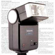 Powerful Dedicated Auto Manual Bounce Flash for many Canon Manual or Pentax Film and Digital SLRs