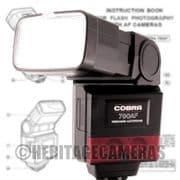 Powerful Tilt Swivel Bounce Zoom Wide AF Flash, most Canon EOS 35mm SLR Cameras NOT 300X or digital
