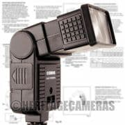 Tilt Bounce Zoom Auto and Manual Hot Shoe Flash Unit for many Mechanical Film Cameras (some digital)