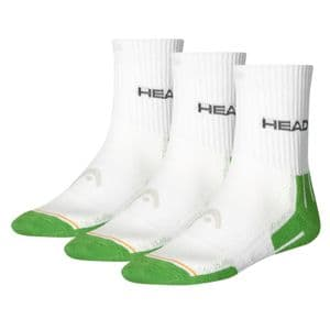 HEAD Unisex Performance Short Crew Socks 3P