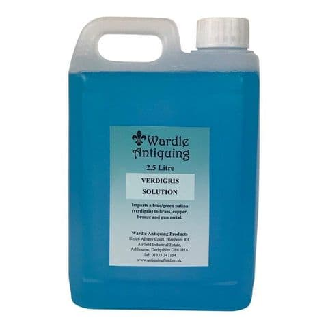 Verdigris Solution 2.5lt
