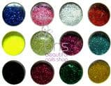 12 Colours Glitter Dust , Nail Art, Make Up - Set 3