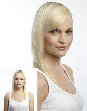 Human Hair<BR/> Limited Edition<BR/> Clip-In Side Fringe