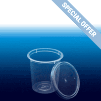 L230 Clear Container & Clear Lid