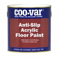 Coo-Var Anti Slip Acrylic Floor Paint