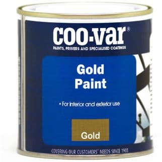 Coo-Var Gold Paint