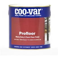 Coo-Var Pro Floor Paint 2 Pack Water Based
