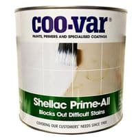 Coo-Var Shellac PRIME ALL White