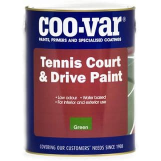 Coo-Var TENNIS COURT and DRIVE Paint