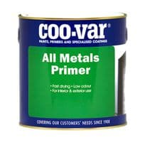 Coo-Var WATER BASED All Metals Primer