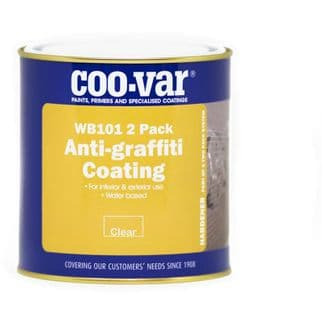 Coo-Var WB 101 2 Pack Anti Graffiti Coating