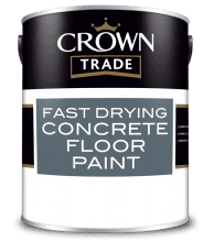 Crown Fast Drying CONCRETE FLOOR Paint